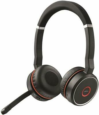 Jabra Evolve 75  active noise canceling with Link 370 - Durable Carrying Case