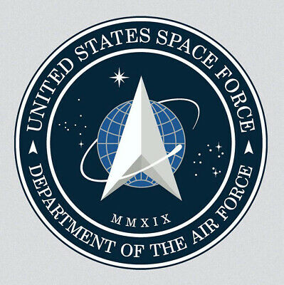 Space Force United States Air Force Sticker Vinyl Decal 4x4 inches    2-420