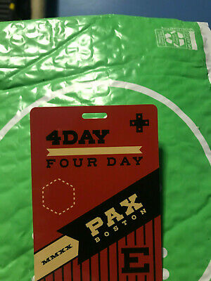 PAX East 2020 4 Day Badge FREE SHIPPING