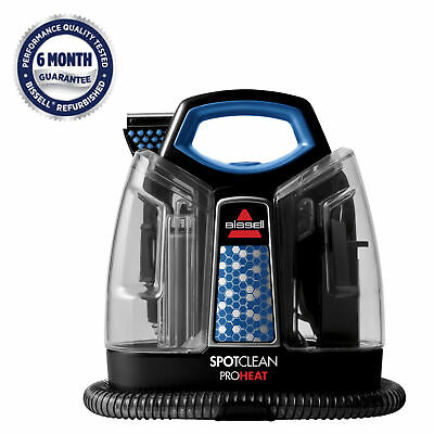BISSELL SpotClean ProHeat Portable Spot Carpet Cleaner  5207 Refurbished