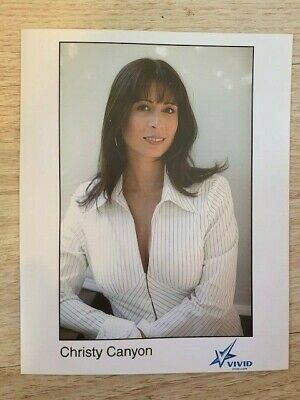 Christy Canyon Book Promotion 8x10