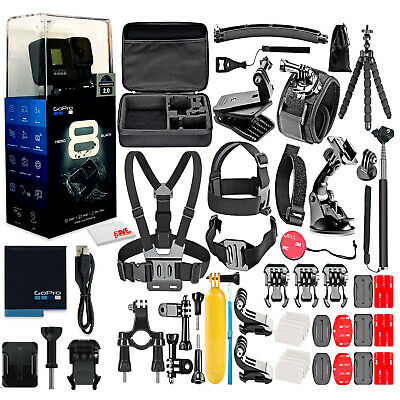 GoPro HERO8 Black Action Camera All You Need Bundle