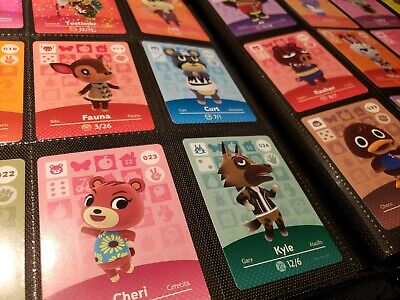 Animal Crossing Amiibo Series 1 Cards 1-100 Mint Authentic Choose cards