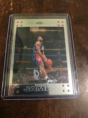 Lebron James 2008 Topps Chrome 23