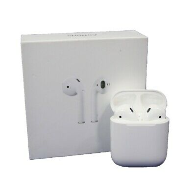 Apple AirPods 2nd Generation Wireless Headsets with Charging Case MV7N2AMA