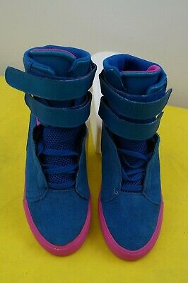 Supra shoes tk society pink  and baby blue size 7