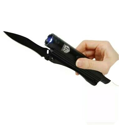 Safety Technology 20000000 Volt Stun Gun Knife and Flashlight with Holster