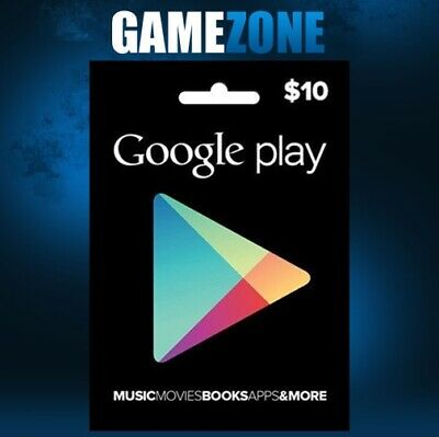 $10 Google Play Store Credit USA Only Dollars Android USD United States Digital