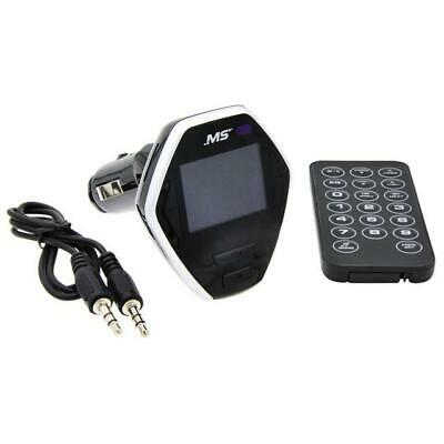 MobileSpec MBS13200 FM Transmitter with LCD Display and Remote