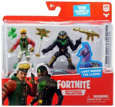 Fortnite Battle Royale Collection Master Key - Lucky Rider Figure Pack NEW