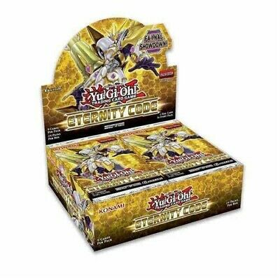 Yugioh Eternity Code 1st Edition Booster Box Factory Sealed SHIPS TODAY