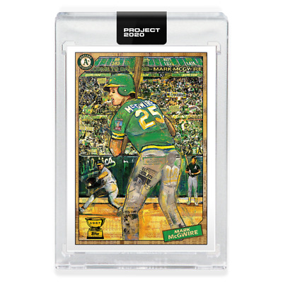 PRESALE Topps Project 2020 97 Mark McGwire Oakland Athletics - Andrew Thiele
