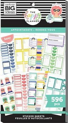 Create 365 The Happy Planner Mini Stickers - Appointments 596 NEW