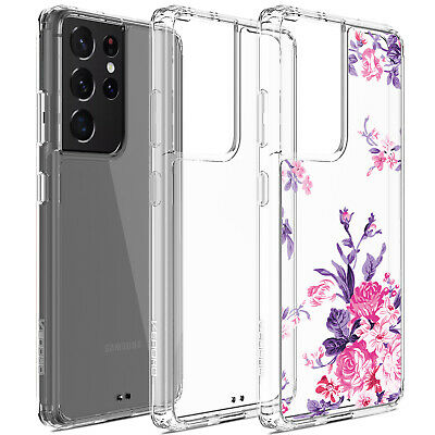 For Samsung Galaxy S21-Ultra 5G Shockproof Clear Case Slim Soft Silicone Cover
