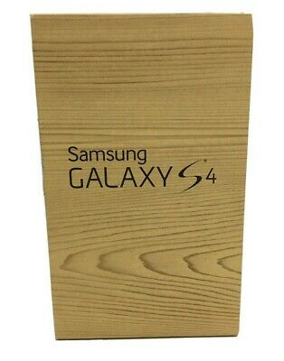Samsung Galaxy S4 Box EMPTY With Inserts  and Owners Manuel