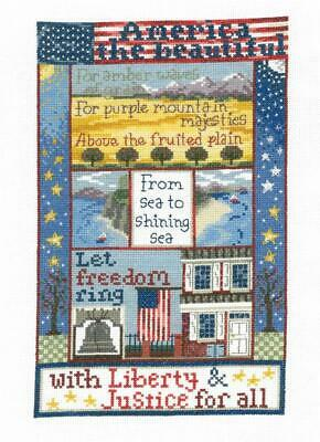 Imaginating Cross Stitch Kits Sealed - Liberty For All