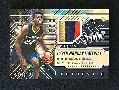2016 Panini Cyber Monday Materials Galactic 10 Buddy Hield 2 Rookie