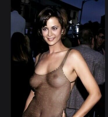 CATHERINE BELL - MORE OR LESS TOPLESS - SEE THRU TOP