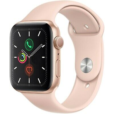 Apple Watch Gen 5 Series 5 40mm Gold Aluminum - Pink Sand Sport Band MWV72LLA