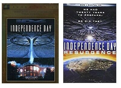 INDEPENDENCE DAY 1 ONE 2 TWO RESURGENCE - DIGITAL HD DVD - NEW