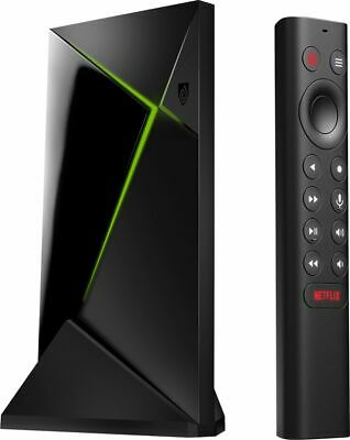 NVIDIA - SHIELD Android TV Pro - 16GB - 4K HDR Streaming Media Player with Go-