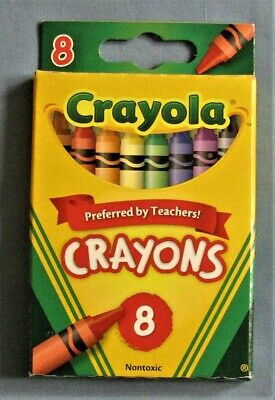 Crayola Crayons 8 Pack 52-3008 New Never Used