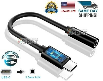 New USB C to 3-5mm AUX Headphone Adapter Type C Jack For Android B