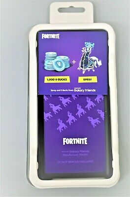 Samsung Fortnite SMART COVER CASE for Galaxy Note9 BLACK with VALID VBUCKS