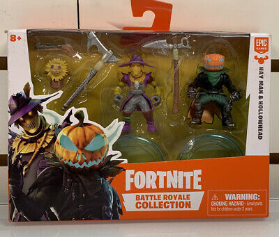 Fortnite Battle Royale Collection HAY MAN and HOLLOWHEAD