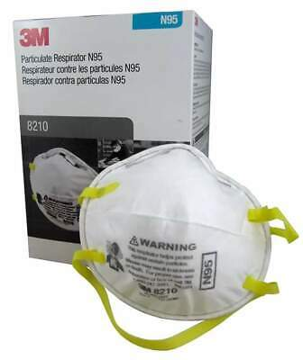 3M 8210 N95 Particulate Respirator 1- Box of 20 Masks EXP- 072026 Valid Codes