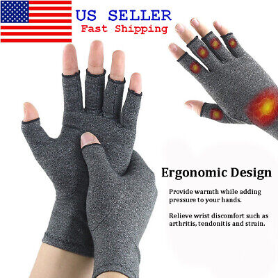 Compression Gloves Arthritis Pain Relief Carpal Tunnel Hand Wrist Brace Support