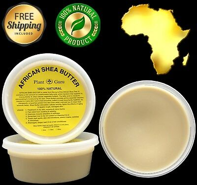 Raw African Shea Butter IVORY 8 oz Unrefined Pure Organic 100 Natural Ghana