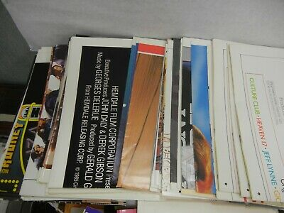 Huge Collection Original Movie Posters from 80s - 90s Folded New Mint U-Pick
