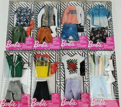 Barbie Ken Complete Fashion Looks clothing packs lot of 2 styles may vary