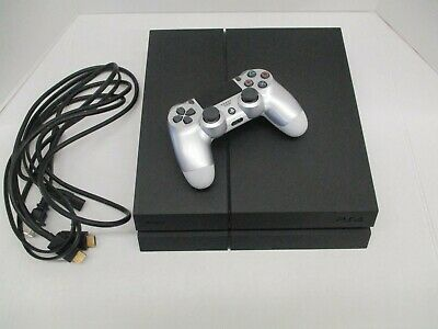 Sony PlayStation 4 500GB Jet Black Console Model CUH-1215A With Controller