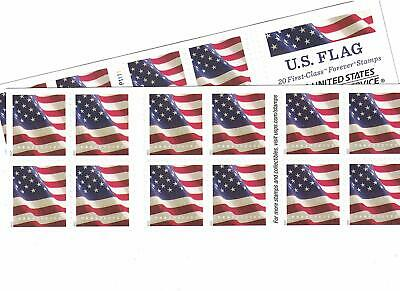 20 USPS Forever Stamps - 1 Book - Assorted