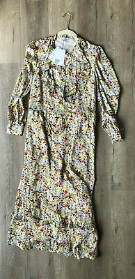 - Other Stories Ruffled Midi Dress Floral US 6 Kate Middleton And Other Stories