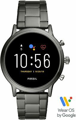 Fossil - Gen 5 Smartwatch 44mm Stainless Steel - Smoke with Smoke Stainless S-