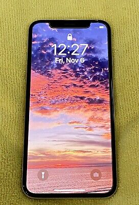 iPhone X 256GB White Unlocked Used GSM - works perfectly- Great condition-