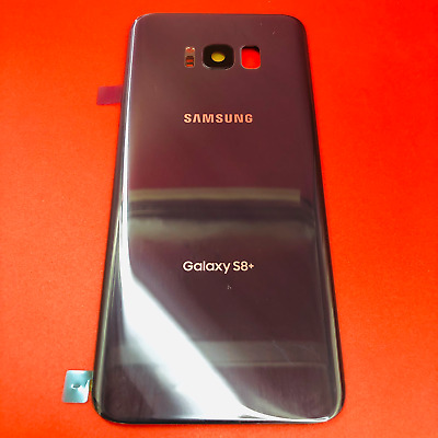 ORIGINAL Samsung Galaxy S8- PLUS G955 ORCHID Battery Glass Back Cover Replacemen