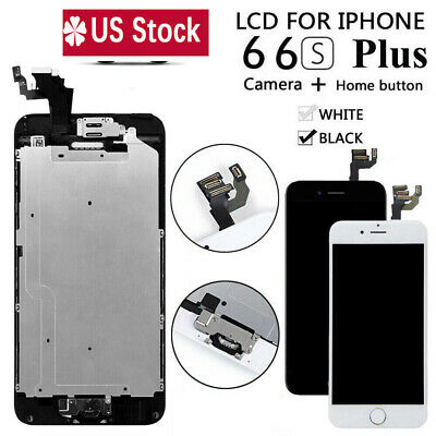 For iPhone 6S 6 Plus LCD Touch Screen Full Replacement With Camera - Home Button