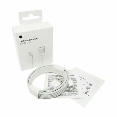 Genuine Original APPLE iPhone 11 Pro Max Charger Lightning to USB Cable 2m6ft