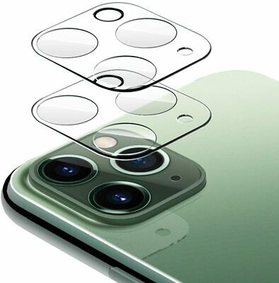 2 Pack Camera Lens Protector for iPhone 12 Pro MAX Mini Clear Tempered Glass