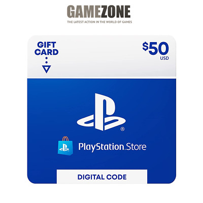 50 PlayStation Store USD Card - PS PSN US Store - Instant Code PS4PS3PSP