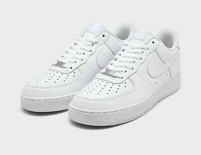 NIKE Air Force 1 Low 07 TRIPLE WHITE Casual Shoes 315122-111 Men's ALL SIZES