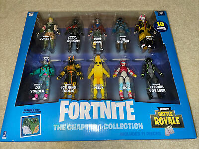 Fortnite The Chapter 1 Collection - 10pk Battle Royale Action Figures Brand New