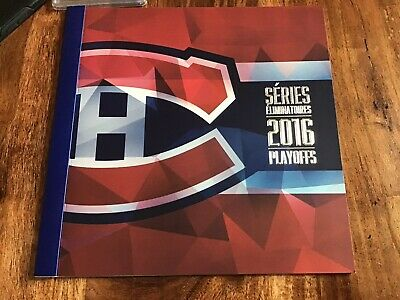 MONTREAL CANADIENS 2016 PLAYOFF TICKET COMPLETE BOOKLET