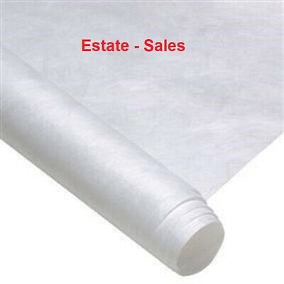 5 X 8 ft- ROLLED  Pure White Dupont Tyvek -FREE SHIPPING