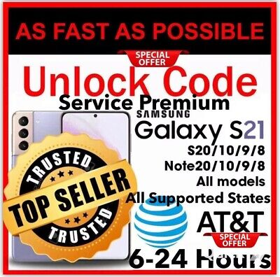 ✅🔥Service Cheap Unlock Code Galaxy S21 S20 S10 S9 All Model Samsung Supported✅