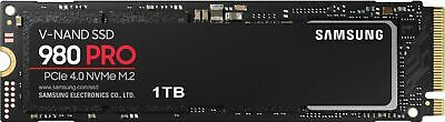 Samsung - 980 PRO 1TB PCIE 4-0 x4 NVMe Gen4 Internal Gaming SSD M-2 for Lapto-